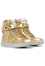 SNEAKERS SINGLE GOLD