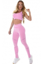 LEGGINSY BEZSZWOWE PERFECTION PINK